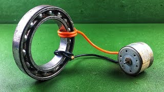Free Energy Generator Work 100% Electric Magnet Whit DC Motor At Home