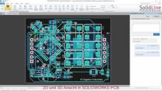 SOLIDWORKS - von der Idee zum Produkt: Teil 8 Leiterplattenentwicklung