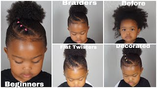 Quick & Easy Toddler Natural Hairstyles | Beginner Friendly To Advanced!