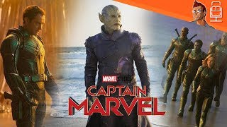 FIRST LOOK at MCU Skrulls, Captain Mar-Vell & More