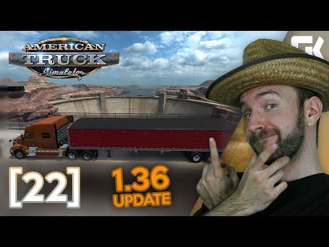 UPDATE 1.36 | American Truck Simulator #22