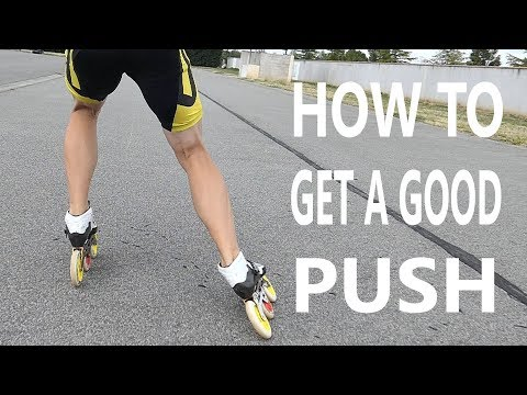 inline skate 3 tips for a good push (pascal briand vlog 62)