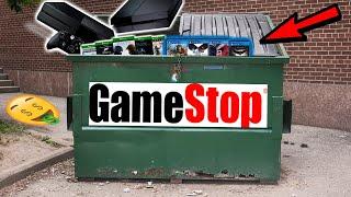 THIS IS A DUMPSTER JACKPOT!! Gamestop Dumpster Night #961