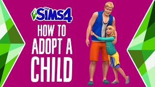 How to Adopt a Child in The Sims 4 🧒🏽🥰