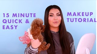 15 Minute Quick & Easy Makeup Tutorial | Hrush Beauty Routine