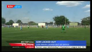 Gor Mahia locked out of their offices at Nyayo Stadium over unpaid rent