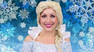 Elsa Frozen Costume Makeup Tutorial