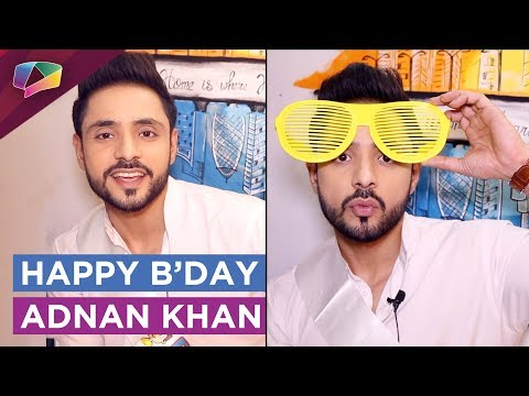 Adnan Khan aka Kabir From Ishq Subhan Allah Celebr