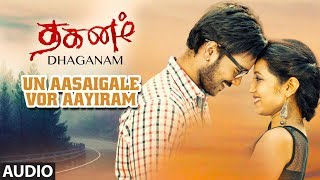 gratis download video - Un Aasaigale Vor Aayiram Full Audio Song | Dhaganam Tamil Movie| Aryavardan, Avinash, Vinaya Prasad