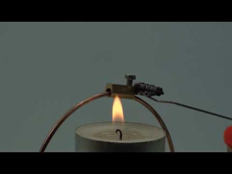 Physikalische Effekte originell veranschaulichen mit OPITEC Bausatz Thermowippe (Artnr. 104689)