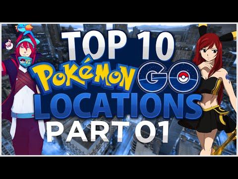 Video Top 10 Pokemon Go Locations! Feat. Mystic Umbreon