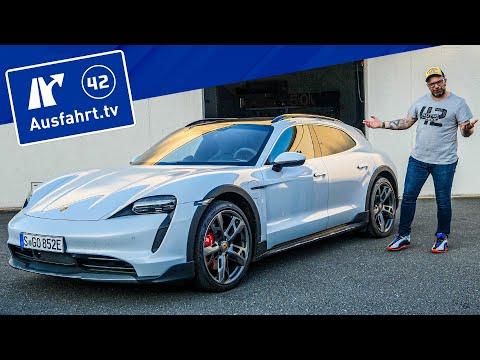 2021 Porsche Taycan 4S Cross Turismo Plus - Kaufberatung, Test deutsch, Review, Fahrbericht
