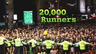 20,000 Runners chasing 1 Car