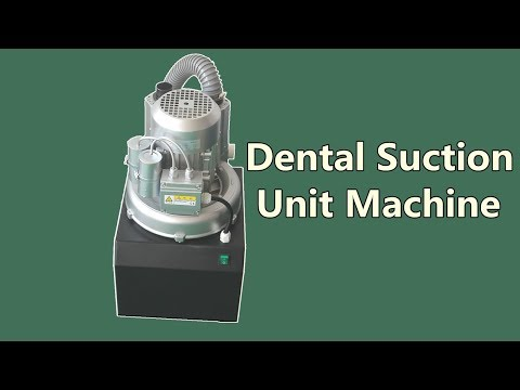Dental Suction Machine Vacuum System Instruction for Use