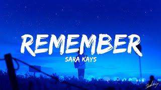 Sara Kays - Remember That Night? (Lyrics) | TikTok