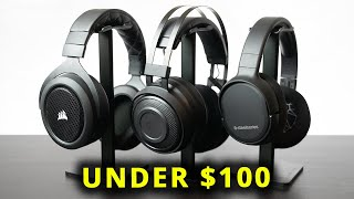 Top 3 Wireless Gaming Headsets Under $100! [PC, PS4, & XBOX]