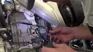 Dirt Bike - Sub Frame Removal And Install - CRF450R / CRF 250 R