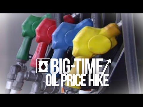 [GMA]  24 Oras: Lagpas P2/L taas-presyo sa gasolina at halos P2/L sa Diesel, posible sa susunod na linggo