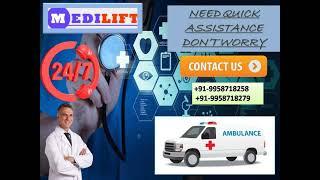 Accommodated Ambulance Service in Bootimore and Chutia