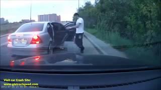 Драки на дорогах.агресивное быдло