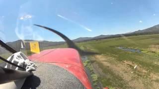 Airplane Crash In-Cockpit Footage: Stinson 108-3