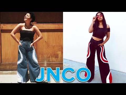 Women Wear JNCO Jeans For A Day