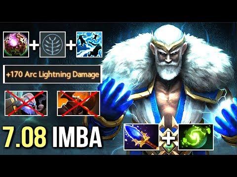 1sec 315 Damage Arc Imba Zeus Counter CK WTF 4x Nimbus Epic Gameplay by Jeyo Dota 2
