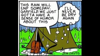 Microsoft Sam Reads Garfield Comic Strips (Episode 1)