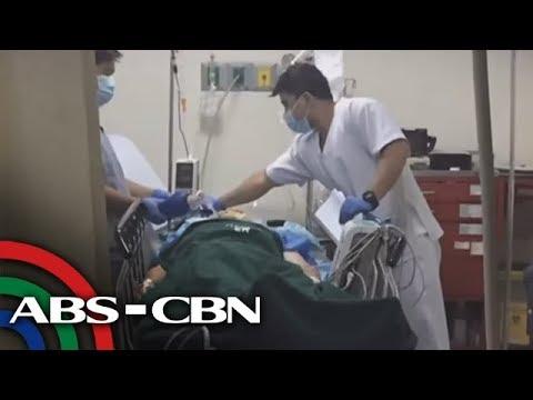 [ABS-CBN]  Nabaril na dating Santo Tomas vice mayor, inoobserbahan pa rin sa ospital