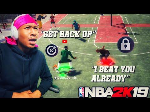 Exposing Elite 3 Trash Talker on NBA 2K19! Best Stretch Big Demigod Build 2k19! Best Jumpshot 2K19