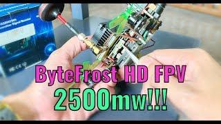Fatshark ByteFrost HD FPV 2.5W Range Test