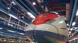 депо для поездов Сапсан тч10 в металлострое