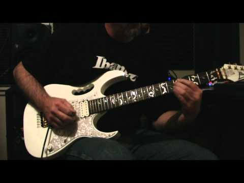 A Minor Backing Track Improv - 1 Take..Al Booher