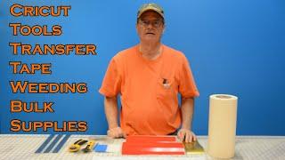 Cricut Tools Transfer Tape Weeding Bulk Supplies