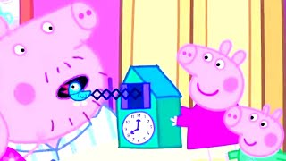 Peppa Pig Full Episodes | Peppa and George Play with a Cuckoo Clock | Cartoons for Kids