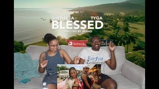 Shenseea   Blessed Feat Tyga Official Music Video REACTION VIDEO