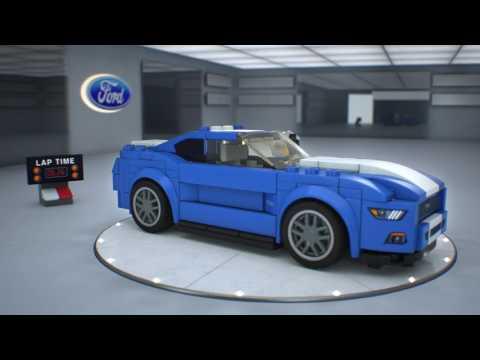 Конструктор Ford Mustang GT - LEGO SPEED CHAMPIONS - фото № 6