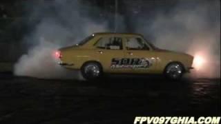 SDR MOTORSPORT MAZDA RX2 13B TURBO BURNOUT AT SUPERNATS EASTERN CREEK RACEWAY – 1.10.2011
