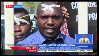 Wanahabari Mombasa waandamana kutokana na mauaji ya wanahabari Pwani, KTN Leo Septemba 21 2016