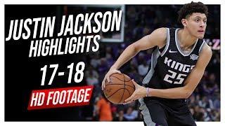 Kings SF Justin Jackson 2017-2018 Season Highlights ᴴᴰ