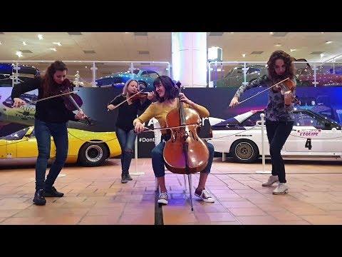 Quartetto Effe Pop-Rock female String Quartet Torino Musiqua