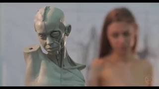 Смотреть онлайн Как настоящие скульпторы лепят из пластилина