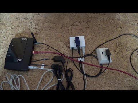Der analoge DSL Anschluss - Verkabelung
