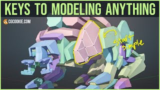 6 Key Principles For 3D Modeling