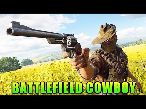Model 27 Revolver Brings The Cowboy To Battlefield V