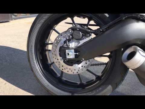2017 Yamaha XSR900 in Greenville, North Carolina - Video 1