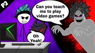 What if a Gamer meets a Ghost part 2