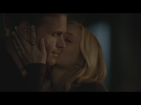 The Vampire Diaries: 7x19 - Caroline kisses Alaric in front of Stefan and ignores him [HD]