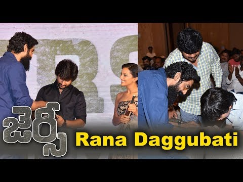 Rana Daggubati at Jersey Movie Team Success Meet Event
