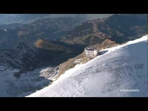 Refuge du Goûter Saint-Gervais Mont-Blanc fin de chantier montagne alpinisme